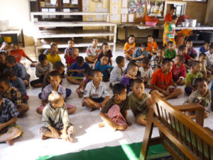 YATANA BON YEIK NYEINのMonastic Education School (テンガンジュン寺院教育学校